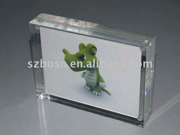 Magnetic Acrylic Photo Frame Perspex Photo Frame