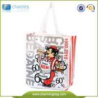 Eco Reusable Colorful Foldable Full Printing PP Non Woven Bag
