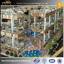 customized 3d rendering high-rise urban building model for real estate display