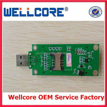 MINI PCI-E WWAN TO USB ADAPTER WITH 3g data card sim card slot for laptops