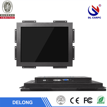 17 inch industrial resistive touch panel lcd monitor open frame industrial monitor