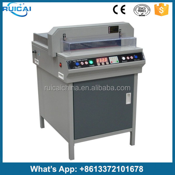 Paper Cutter 450mm Small Paper Cutter 450VS+ Electric Paper Cutter