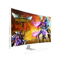 32'' Curved monitor 4k 2k 3d smart tv monitor