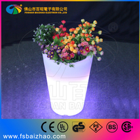 led mini twinkling flower pots lighting flwerpot led solar light flowerpot BAIZHAO