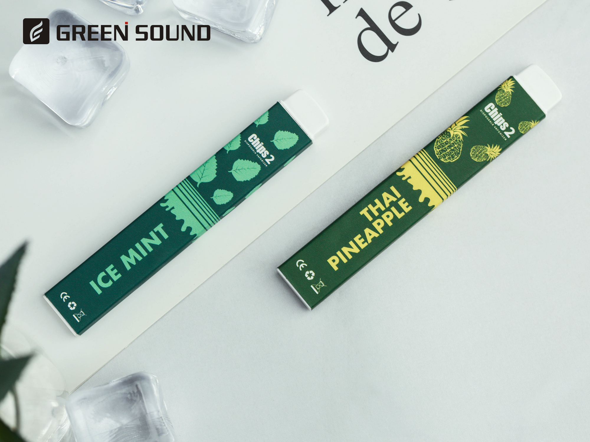 Greensound new 1.5ml mini chip 2 Canada disposable vape pen