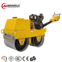 New promotion full hydraulic small tire road roller With made in China