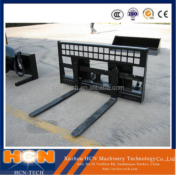 HCN 0102 series Skidsteer loader Pallet fork price from china