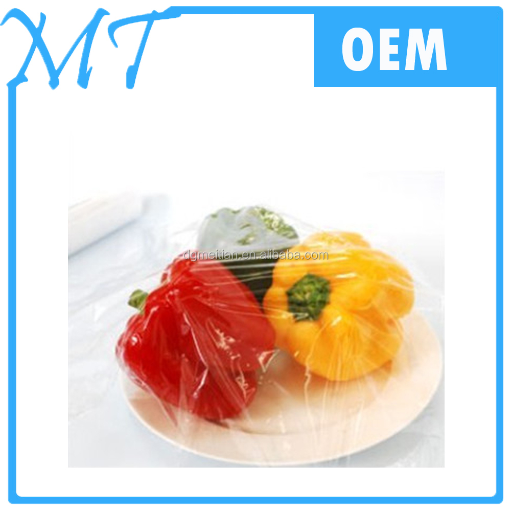 Colored plastic film PVC food wrap with newest design