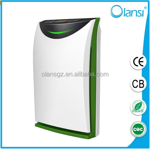 Olans-K05 home design portable filter pm2.5 air purifier with humidifier and mist adjustment