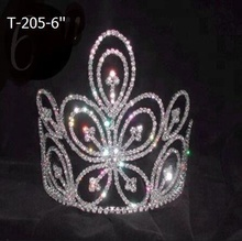 Flower Queen Girl Pageant Tiara And Crowns