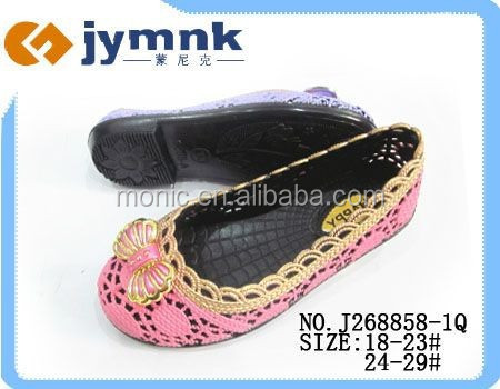 PVC Jelly India Market Kids Sandals