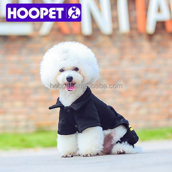 HOOPET tough wild FBI letter police dog coat winter dog clothes
