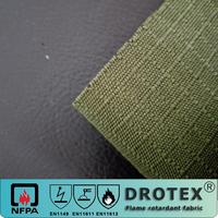 Drotex high quality Aramid Inherently Flame Retardant plain weave fabric for Safety Clothing