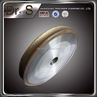 High quality SDC electroplated bond diamond grinding wheel of metal