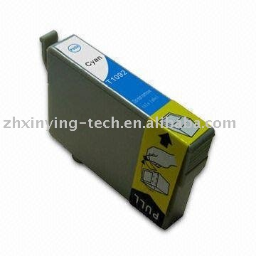 Cyan T1091 Ink Cartridge compatible for Epson Stylus ME30 300 4 C
