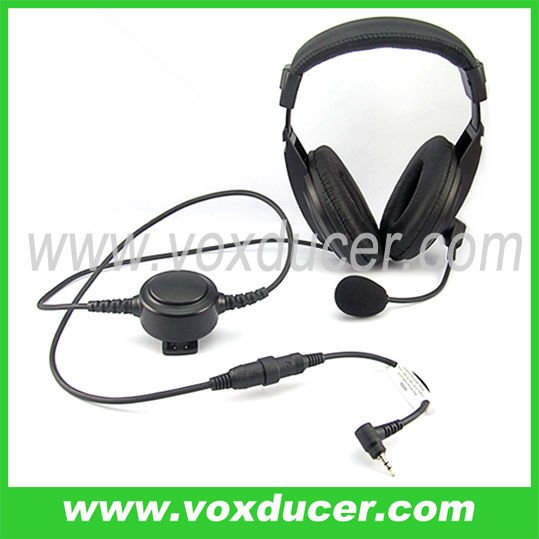 [M-E1965-TG] Aviation boom mic headset with Mini-din for Jingtong radio JT-208 JT-308 JT-2118 JT-3118