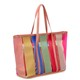 Summer Popular Ladies Fashion New Style Candy Color Printed PVC Plastic Beach Bag