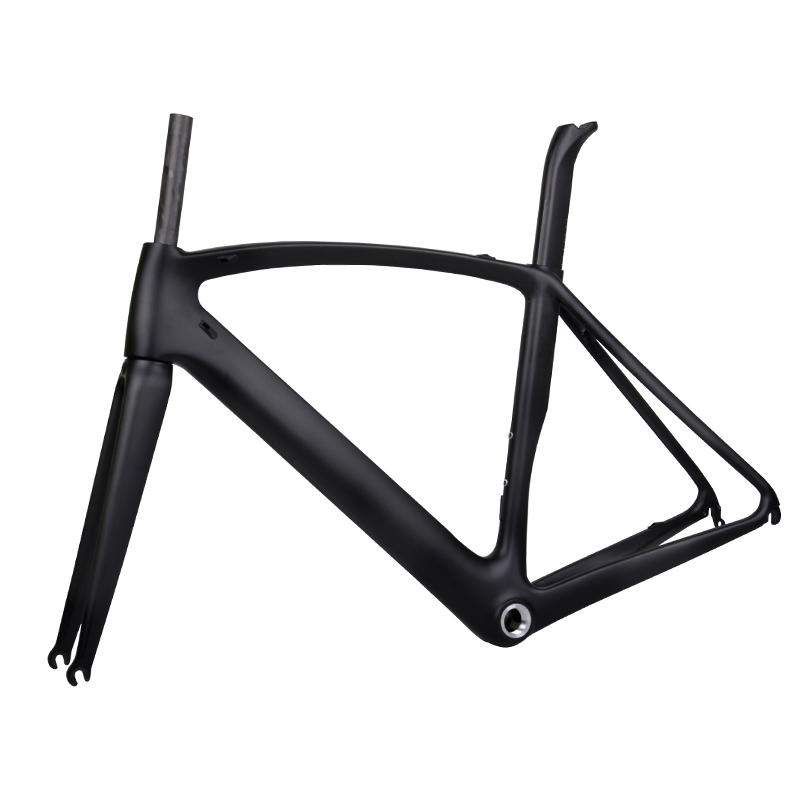 2017 china Baolijia new version UD weave aero racing T700 carbon fiber road bike frame FM098