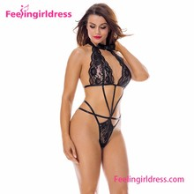 Very Hot Attractive Black Lace One Piece Babysuit Sxi Girls Babydoll