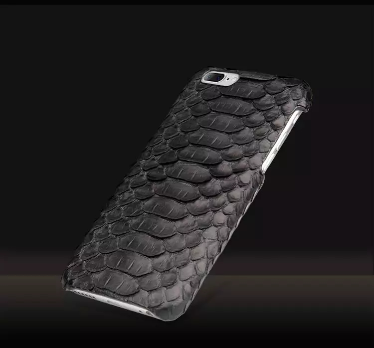 Handmade Luxury Genuine Real Python Snake Skin Leather Case Cove for Apple