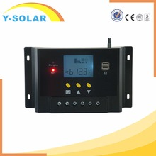 Y-SOLAR 50a dual USB solar duo battery charge controller 5V