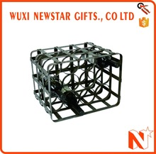 2017 Hot Sale Popular Design Bar Custom Metal Wine Rack