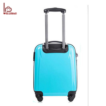 Christmas Gift Kids Trolley Bag Wheels Luggage Mini Suitcase