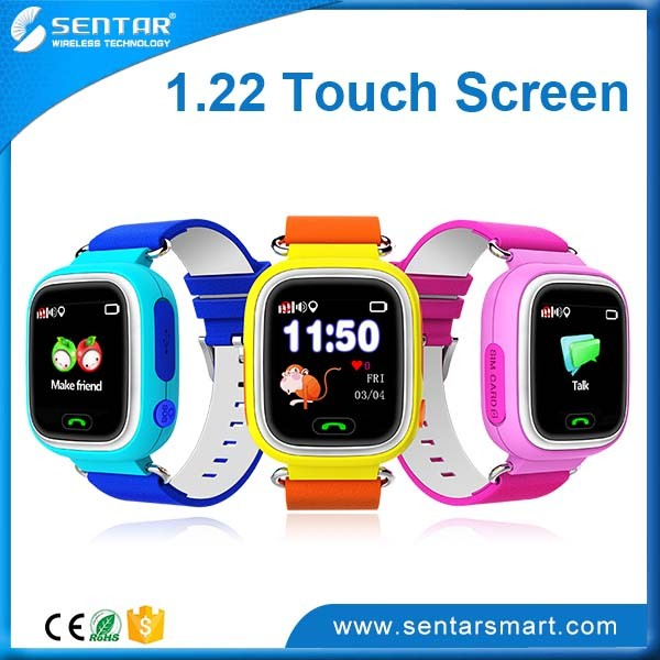 Safety guard band smallest water proof kids gps tracker watch
