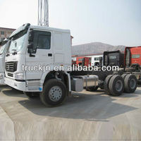 howo 6*4 volvo cabin 371HP tractor truck -----12.00-R20 tyre