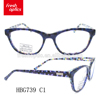 HBG739 Cheap New Trendy Glasses Acetate