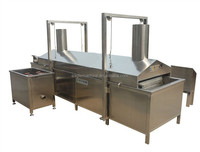high capacity snack pellets / bugle chips /cheetos electricity heating continuous fryer globle supplier