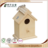 China factory wooden insect house wood carved bird houses