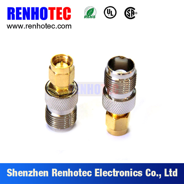 Terminal connector TNC Female to SMA Male RF Adapter Coaxial Connectors
