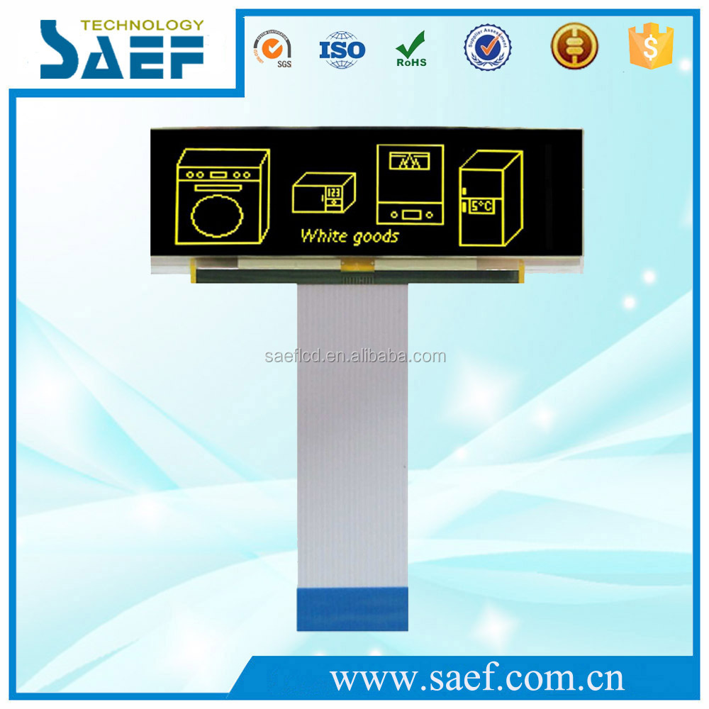 "OLED 3.12"" 256x64 Graphics OLED display module with 8080/6800/SPI Interface OLED Yellow display screen"