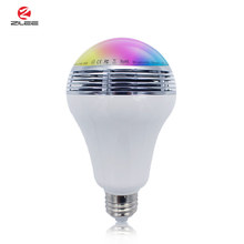 Top quality sound led flashing light music control,led smart bluetooth music lamp, 9w bluetooth speaker led light