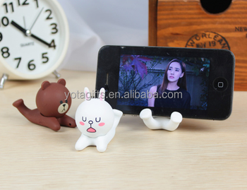 Global Messenger Cartoon Smart Phone Stand Mobile cell phone holder