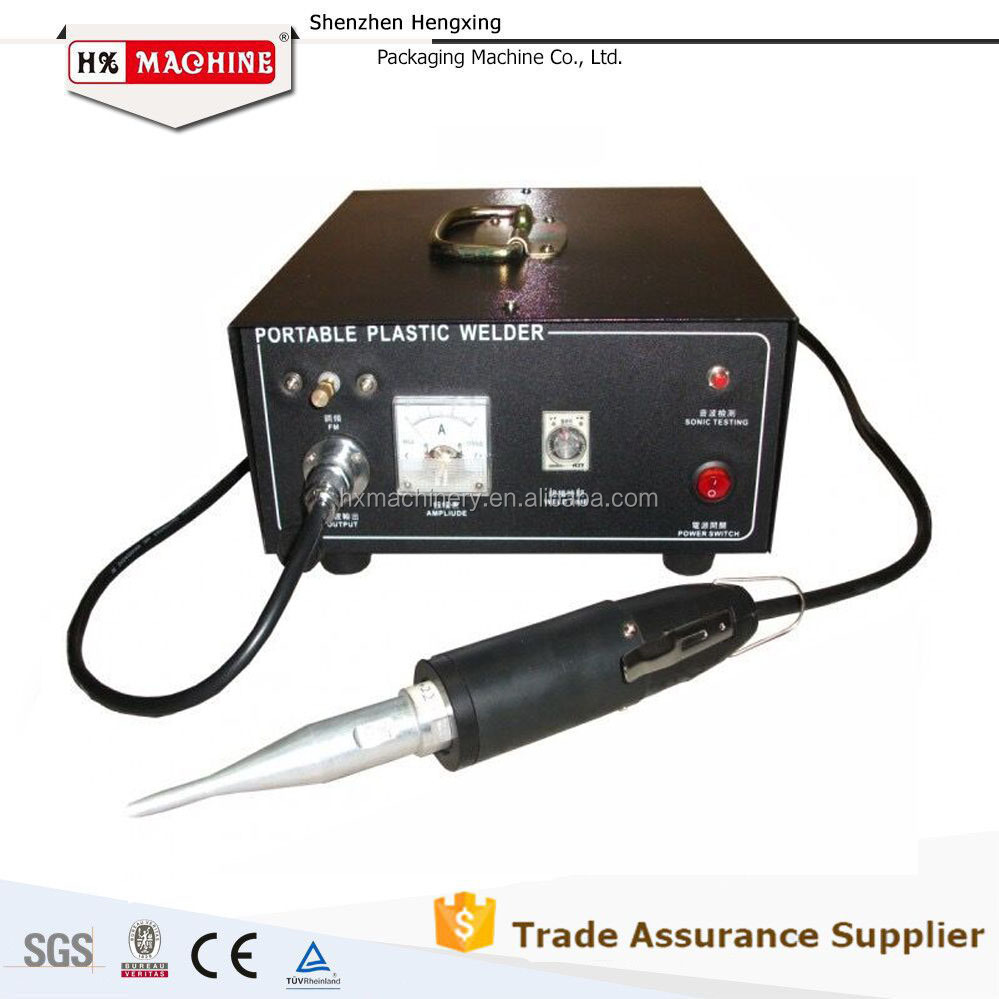 Alibaba Recommend hand held ultrasonic plastic welder CE Approved