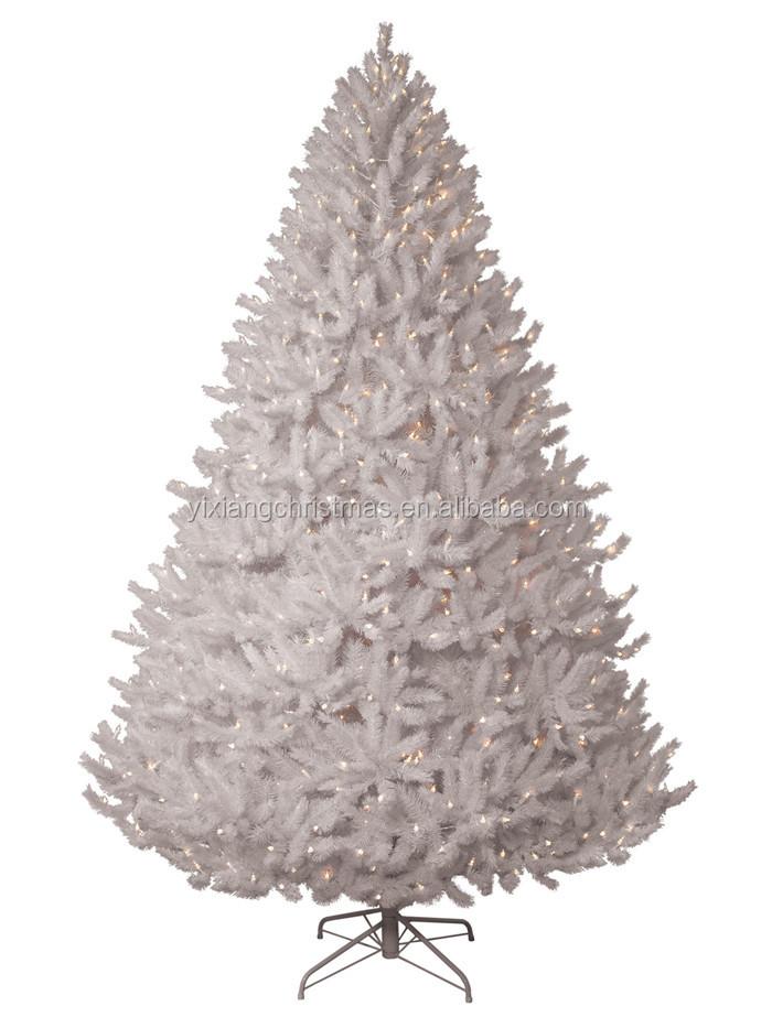 white fake christmas trees pikes peak white artificial - White Fake Christmas Tree
