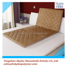 3 folding polymer elastic material POE mattress