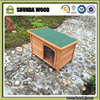 SDD06 NEW TIMBER DOG KENNEL HOUSE PETS WOOD CABIN ROOF HOME WATERPROOF HIGH QUALITY