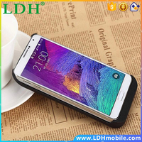 5500mAh Cell Phone charger case for samsung N9100 External Power bank Case for Samsung Galaxy Note 4 battery case