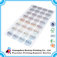 Good-selling stickers letters fabric label stickers