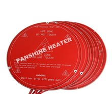 12V Silicone Rubber Heater Bed