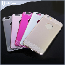 Phone accessories new design Aluminum PC metal material bumper bling Cell Phone Case for iphone 6