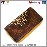 Famous brand universal style phone leather case handbags and wallets