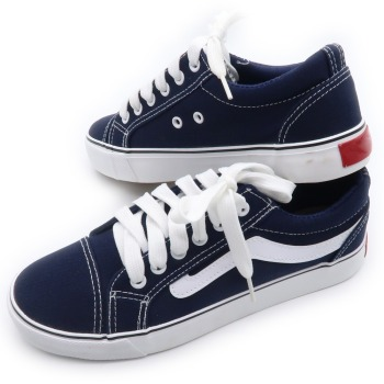 2018 new model famous brand navy casual canvas women Shoes for wholesale