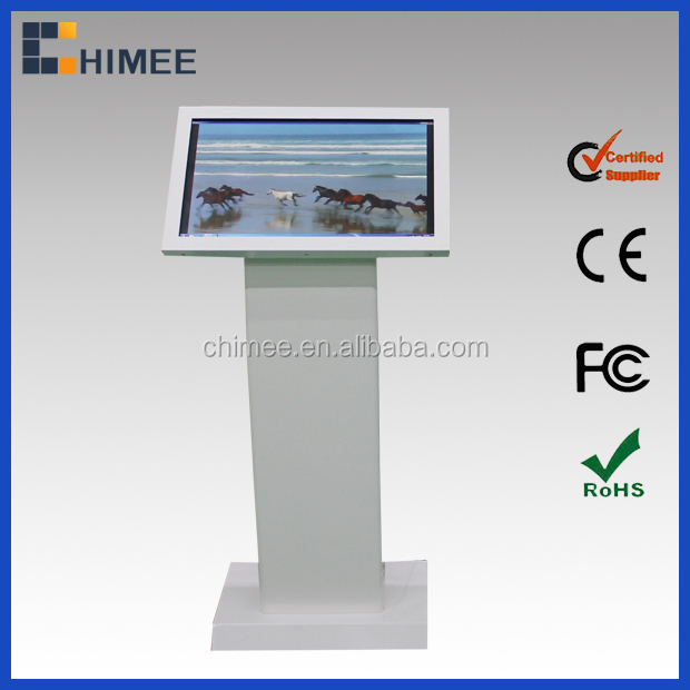 21.5 '' Intel lcd all in one touch totem digital signage lcd tela touch pc