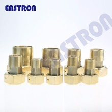"1/2"" 3/4"" 1"" 11/2"" 2"" customed, water meter brass couplings and nuts"