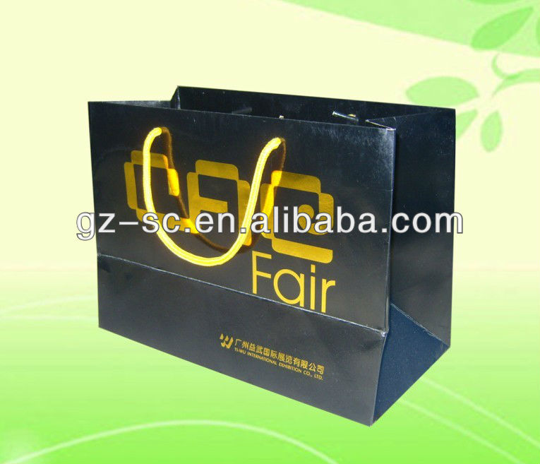 OEM logo paper bag for garment