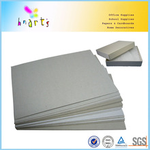 hard stiff gray board,Laminated Grey Paper Board manufacturing
